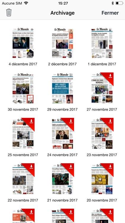 Journal Le Monde screenshot-4