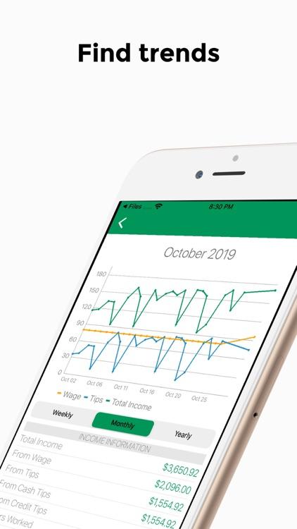 TipTracker - track your income screenshot-4