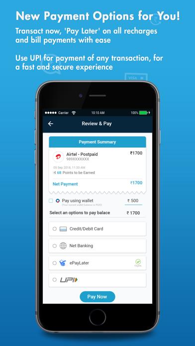 Oxigen wallet-Recharge, Money screenshot four