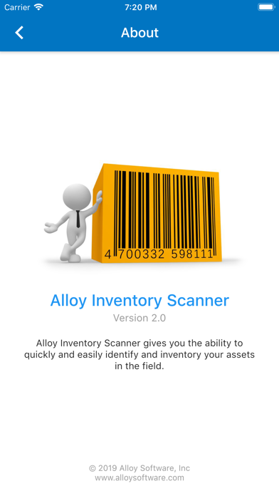 Alloy Inventory Scanner