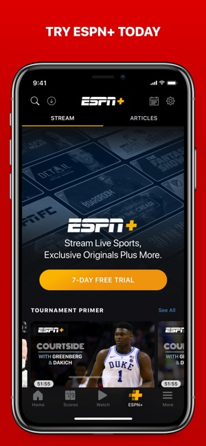 ESPN: Live Sports & Scores on the App Store