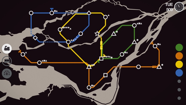 Mini Metro screenshot-4