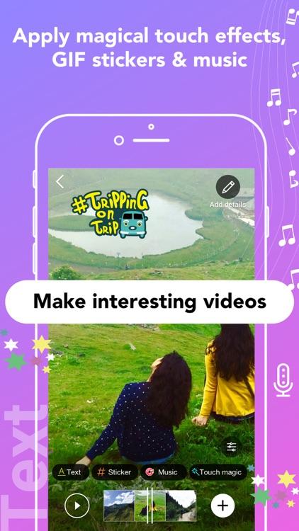 Roposo-Watch & Make Fun Videos screenshot-3
