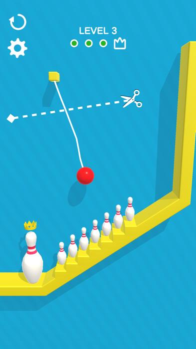 Rope Bowling screenshot 2