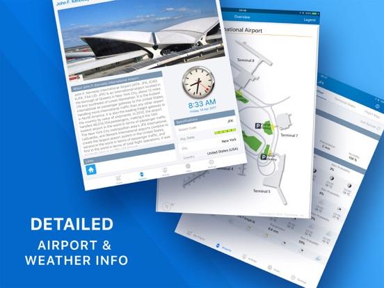 Flight+ Free - Track Live Flights - Flight Board screenshot