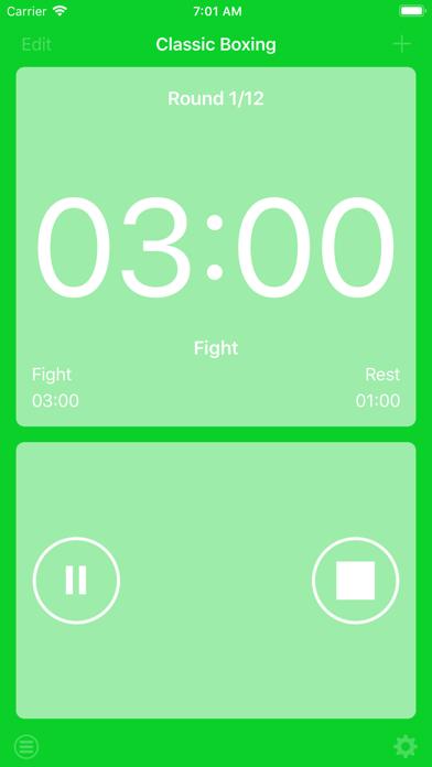 ボクシングインターバルタイマーのおすすめ画像2