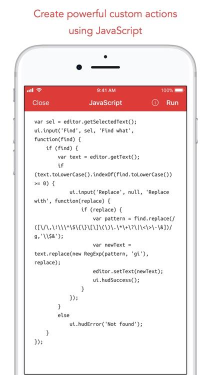 1Writer - Markdown Text Editor screenshot-7