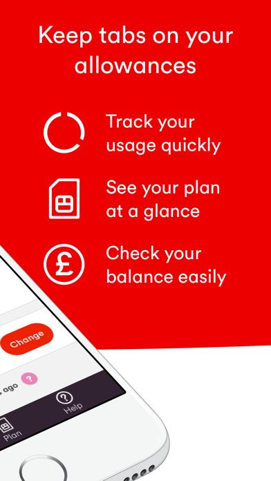 Virgin Mobile Account screenshot two