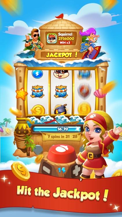 Coin Beach - Slots Master screenshot-0