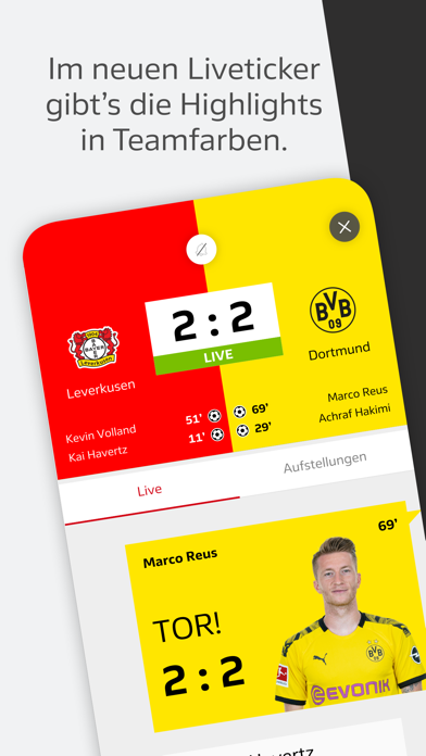 Offizielle Bundesliga App