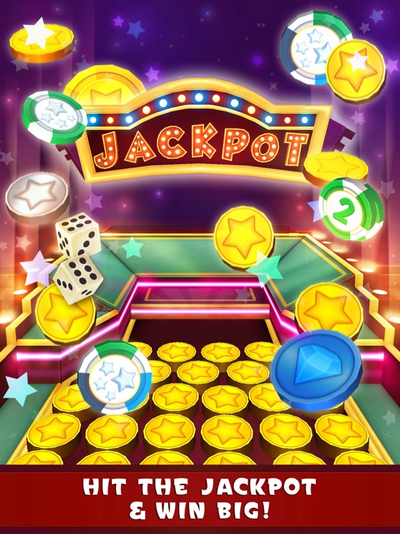 iPad Image of Coin Dozer: Casino