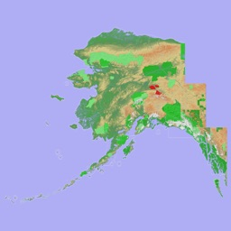 Scenic Map Alaska