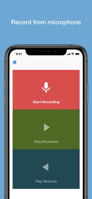 Reverse Audio on the App Store