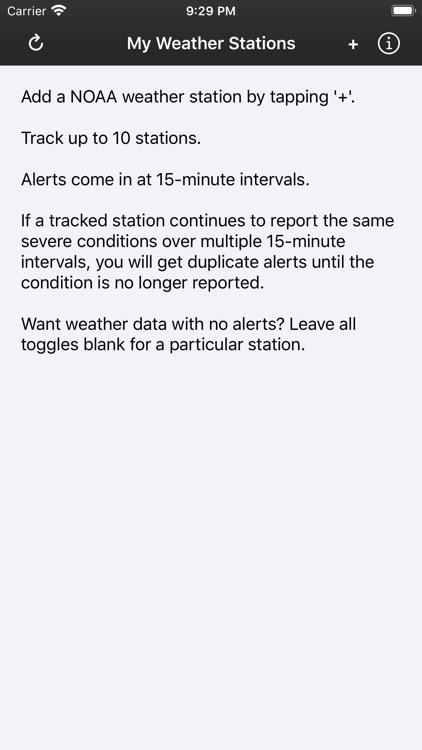 Severe Weather Alerts