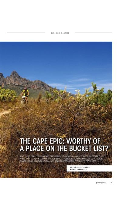Screenshot for Mountain Biking Australia in Egypt App Store