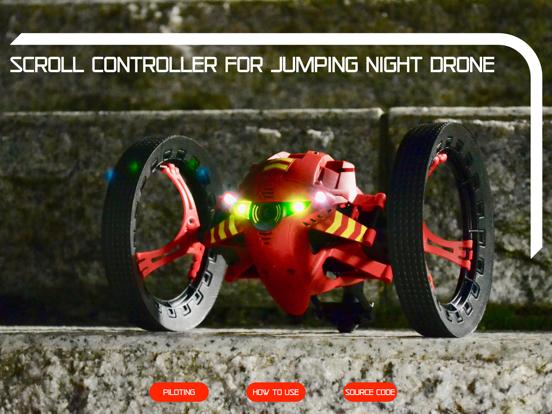ScrollController Jumping Night screenshot 11