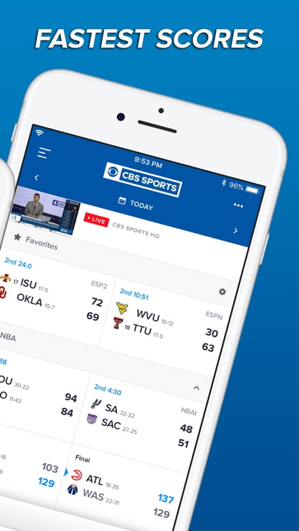 CBS Sports App Scores & News screenshot-1