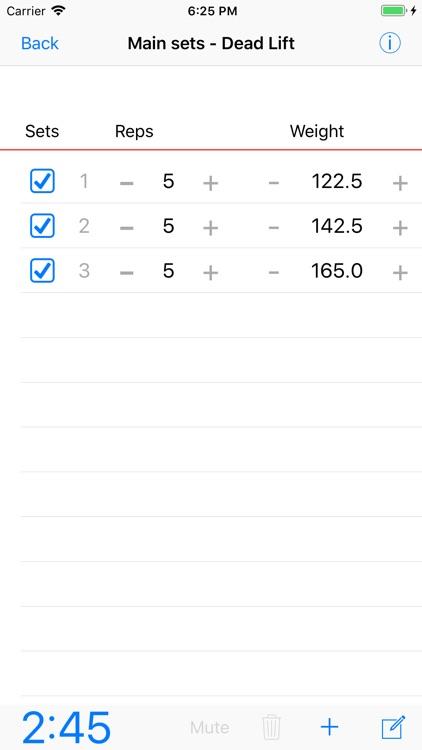 5/3/1 Workout logger - 531 screenshot-0
