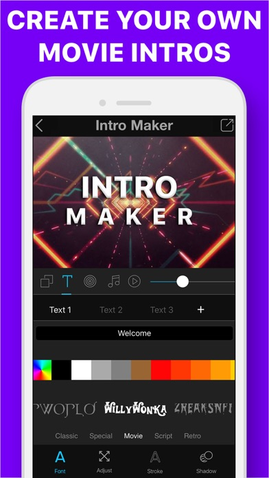 Intro Maker + 3D Movie Trailer - Revenue & Download