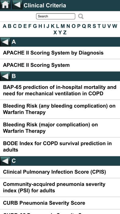 EBMcalc Pulmonary screenshot four