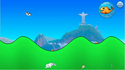 Racing Penguin: Slide and Fly!-1