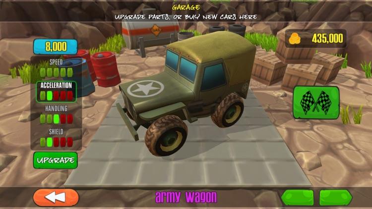Cartoon Super Racer screenshot-3