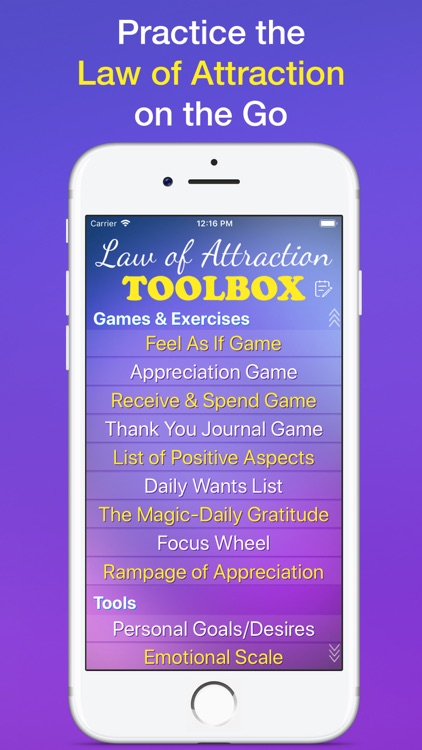 Law of Attraction Toolbox App