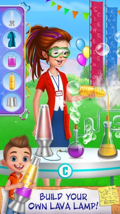 Science Girl Super Star screenshot-1