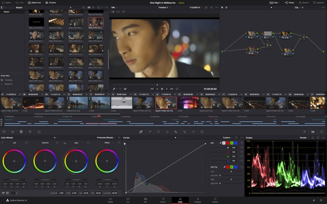 ‎DaVinci Resolve Studio Screenshot