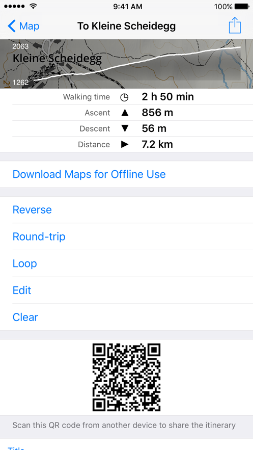 Sentiers App 截图