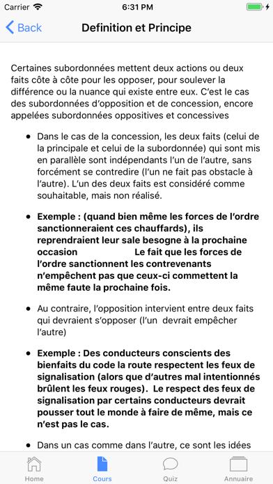 Français 3ème screenshot 2
