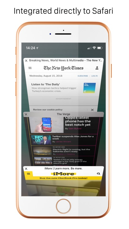 Handblock - Block Safari ads screenshot-0