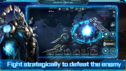 Galactic Frontline:リアルタイム SFストのおすすめ画像4
