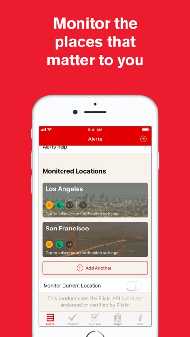 messages.download Earthquake: American Red Cross software