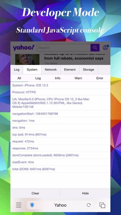 iHTTP Browser Pro - 2x Speed screenshot-8