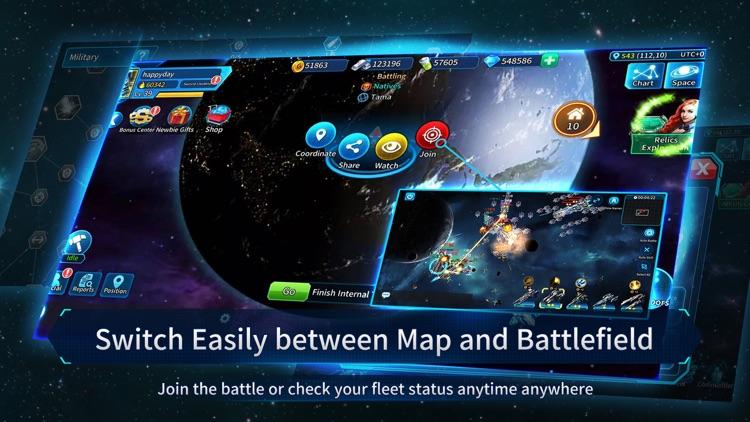 Clash of Stars: Strategy Space screenshot-4