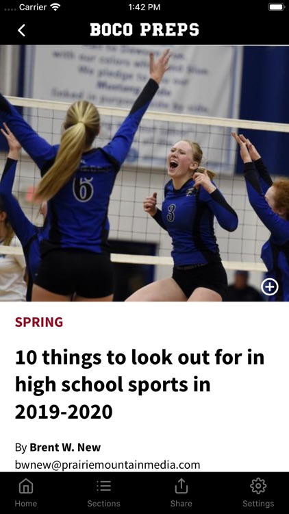 Boulder County Preps News screenshot-1