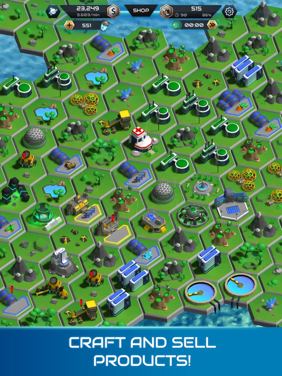 Galactic Colonies screenshot #3