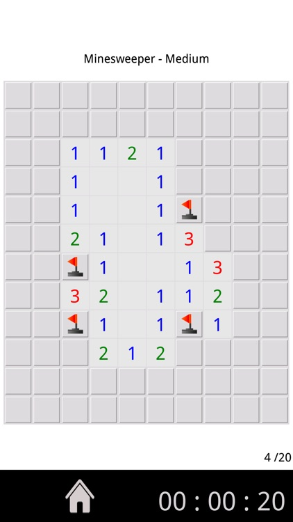Minesweeper game !
