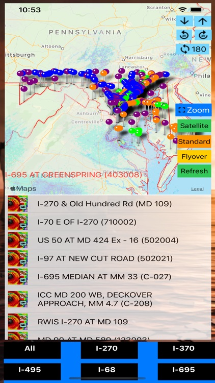 Traffic Cameras Maryland Pro