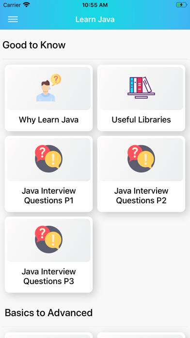 Learn Java Programming [PRO] screenshot 1
