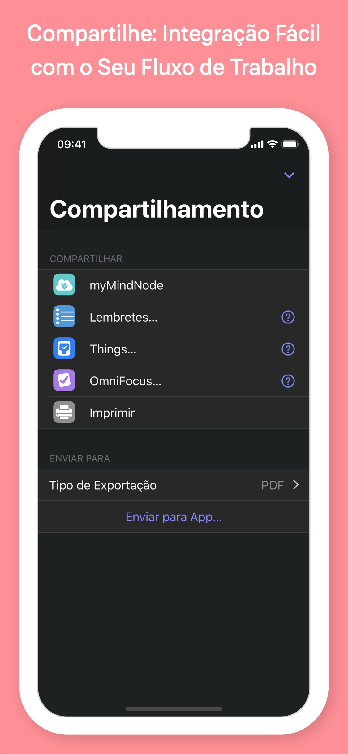 Screenshot do app MindNode 6  - 1125x2436bb - Reeder 4 chega ao macOS/iOS com várias novidades; Instagram, MindNode e Gmail são atualizados