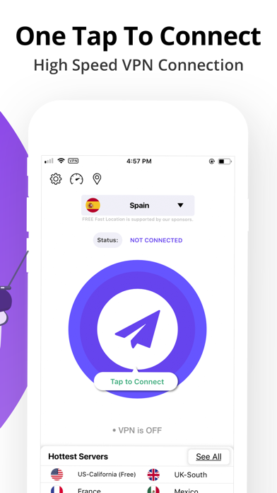 VPN Clean: Super proxy master screenshot three