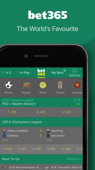 Bet 365 App