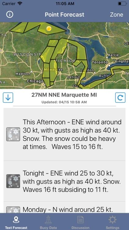 Great Lakes Boating Weather screenshot-8