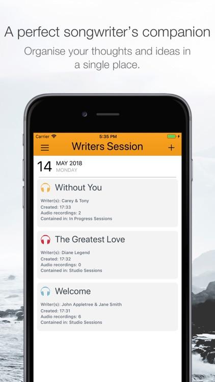 Writers Session screenshot-0