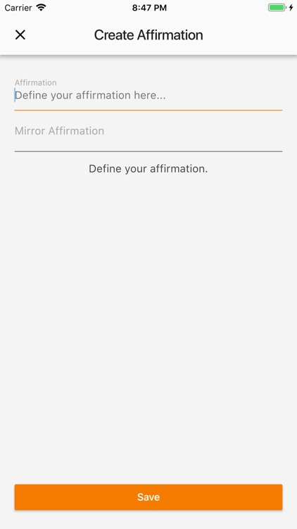 Personal Affirmations
