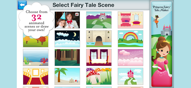 ‎Princess Fairy Tale Maker Screenshot