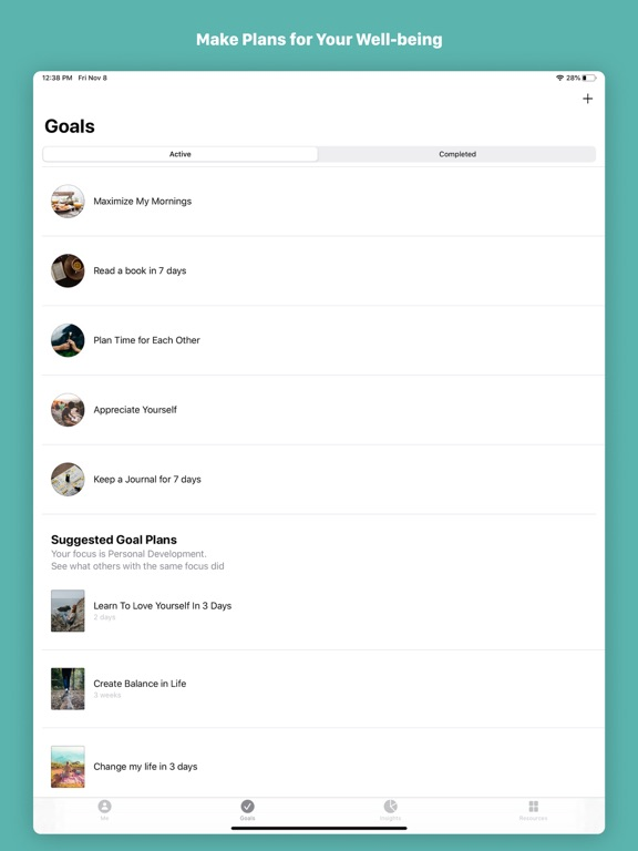 Remente - Goal Setting, Personal Improvement & Mental Training screenshot