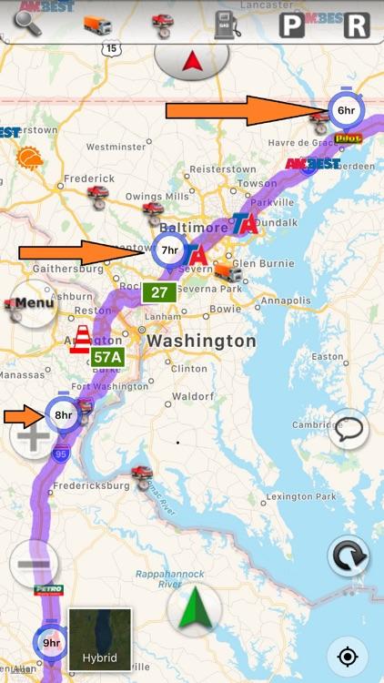 SmartTruckRoute: Truck GPS screenshot-8